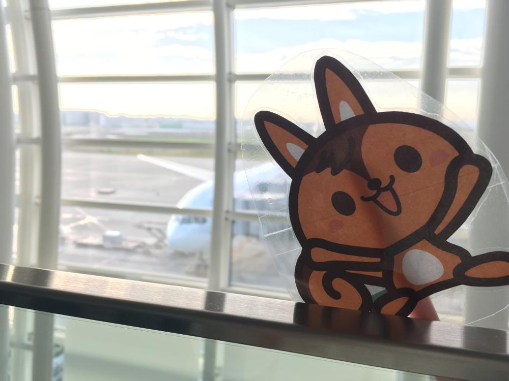 羽田空港からカナダへ