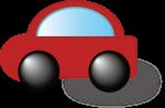 ドライブプロテクトアイコン(赤)