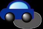 ドライブプロテクトアイコン(青)