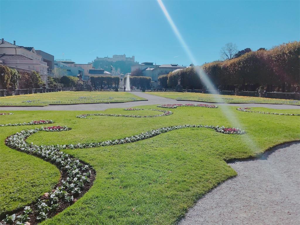 ザルツブルグ散策 ミラベル庭園1