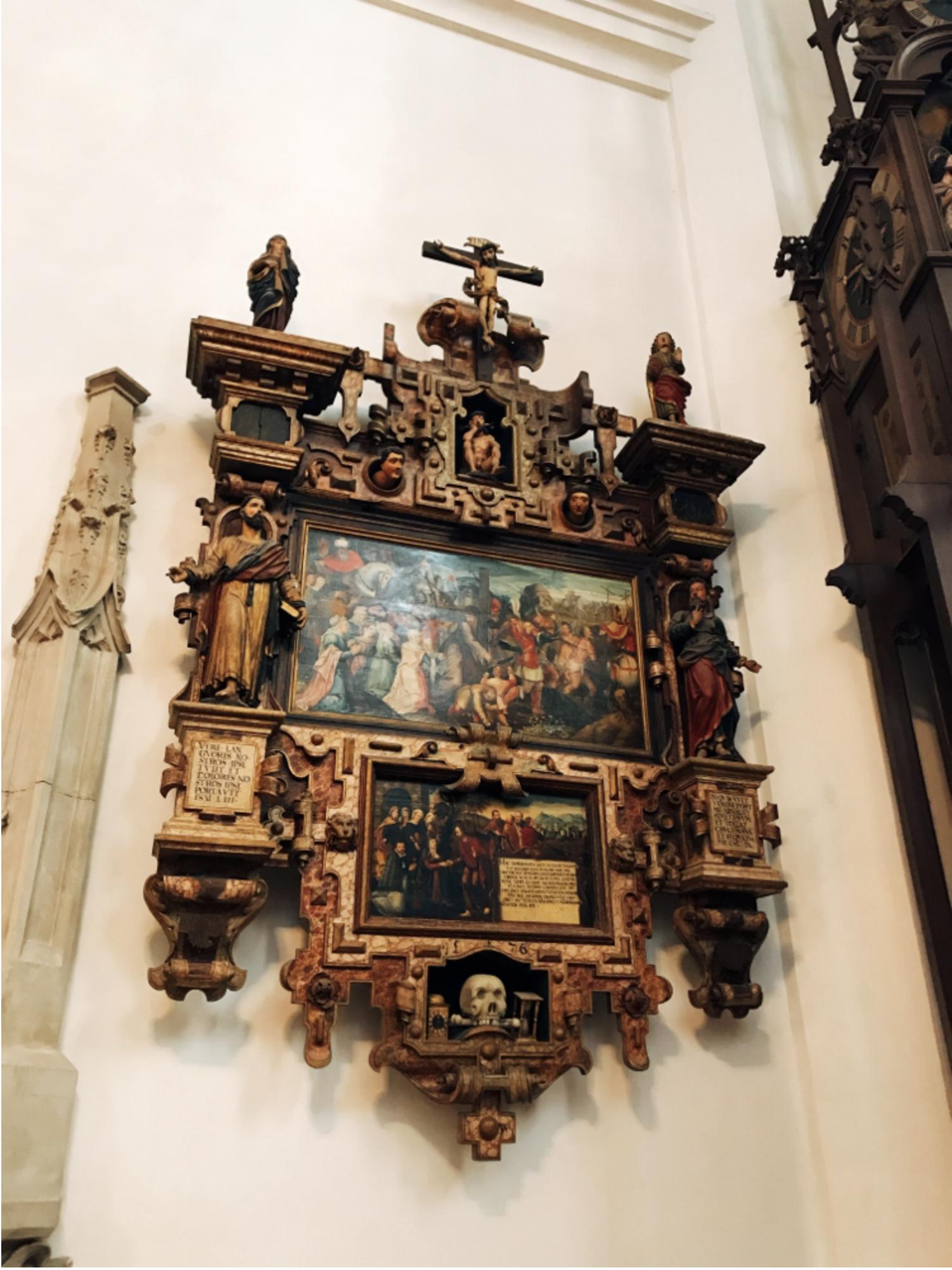 ミュンヘン市内観光 フラウエン教会6