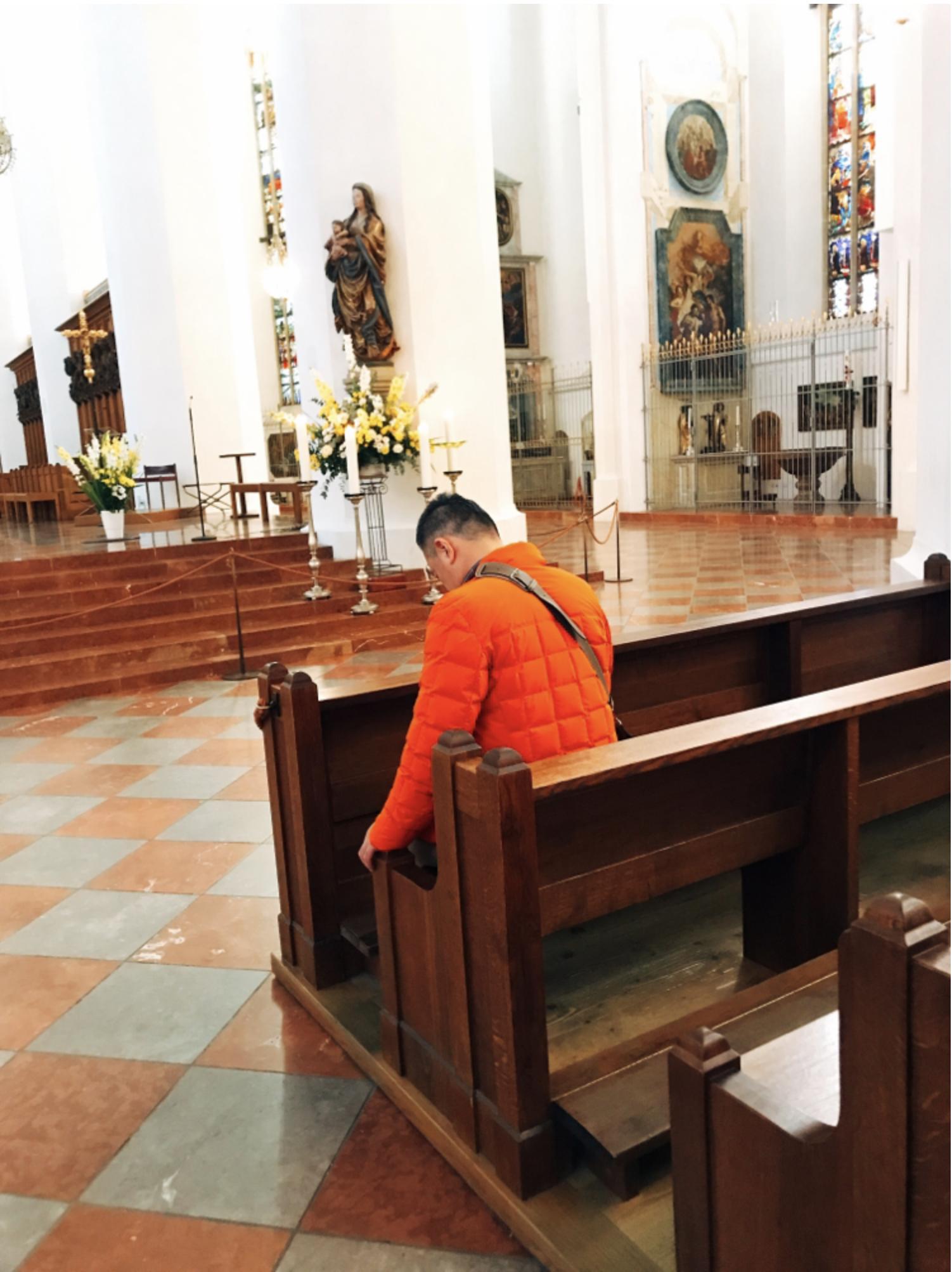 ミュンヘン市内観光 フラウエン教会7