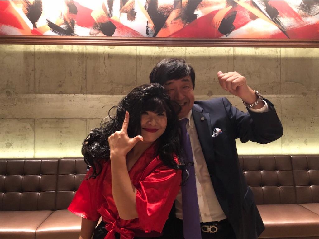 福岡新年会_社長とエージェントさんツーショット